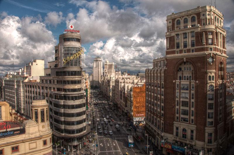 Autobuses eléctricos en Madrid