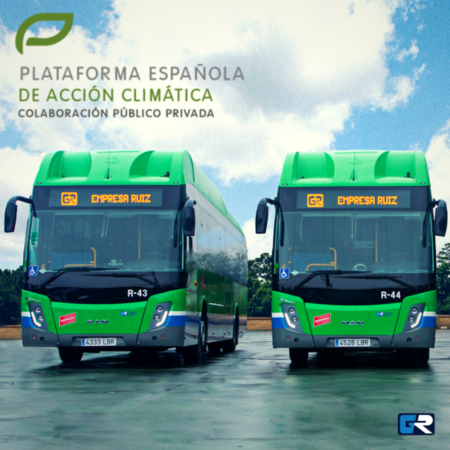 Grupo Ruiz es la primera compañía del sector transporte en adherirse a la Plataforma Española de Acción Climática