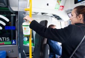 Grupo Ruiz ha colaborado con la Asociación Española Contra el Cáncer instalando huchas en los autobuses interurbanos de Madrid
