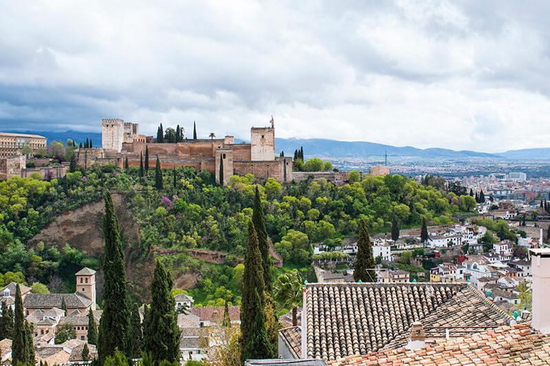 Viaje en bus de Madrid a Granada