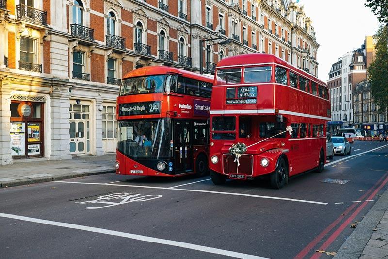 Los autobuses más famosos del mundo