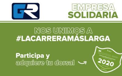 ¡Nos unimos a #LaCarreraMásLarga en la lucha contra el Cáncer y el COVID19!