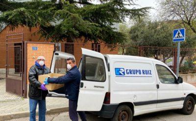 Grupo Ruiz presta su ayuda a las familias más vulnerables por la crisis del COVID-19