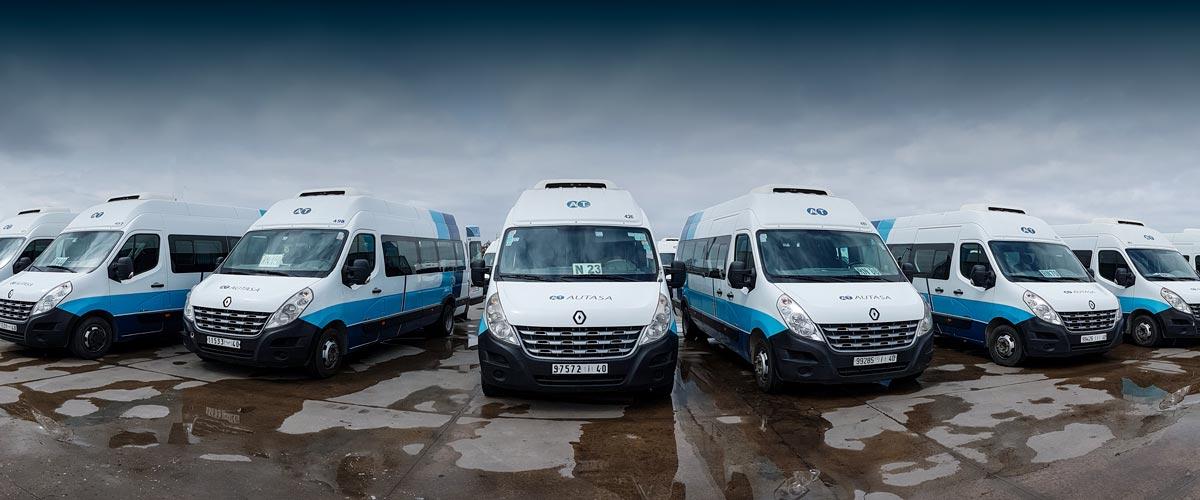 Transporte Regular Especial para Grandes Empresas Industriales en Marruecos