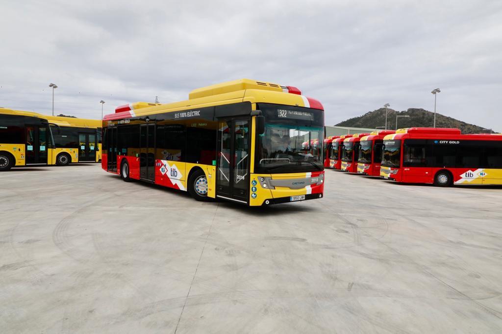 Grupo Ruiz presenta los primeros autobuses interurbanos 100% eléctricos de Mallorca