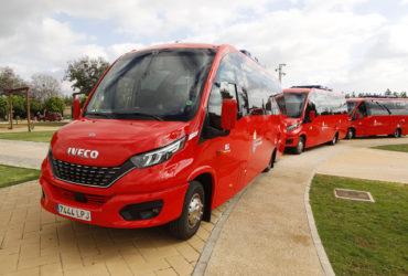 Empresa Ruiz adquiere 3 microbuses que reducen en un 40% la contaminación