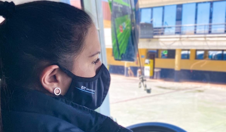 Se cumplen 30 años desde que Grupo Ruiz contrató a  una de las primeras conductoras de autobús en España