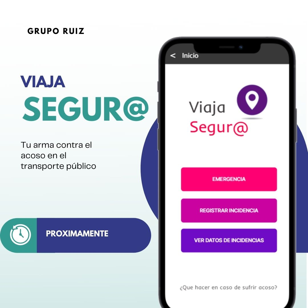 Grupo Ruiz Desarrolla una Aplicación contra el Acoso en el Transporte