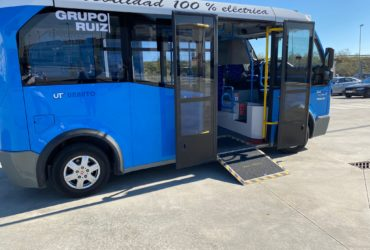 Grupo Ruiz realiza pruebas con el primer autobús urbano eléctrico en Toledo